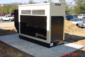 Photo Of Generator Installed In New Jersey - Corbin Electrical Services