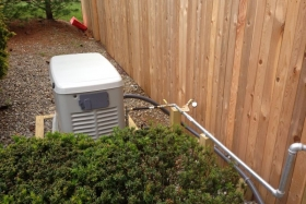 Photo Of Residential Generator Installed In New Jersey - Corbin Electrical Services