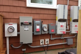 Outdoor Electrical Installation Picture - Corbin Electrical Services