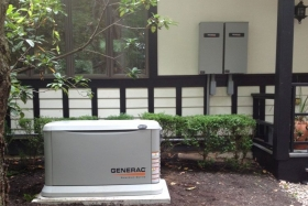Residential Electrical Generator Image - Corbin Electrical Services