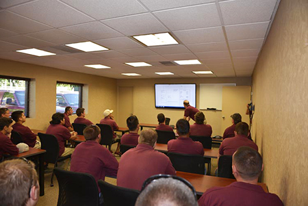 Photo Of Employee Training At New Jersey Generator Company - Corbin Electrical Services, Inc.