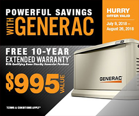 Pawerful Savings Generac