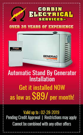 Automatic Stand By Generator Installation