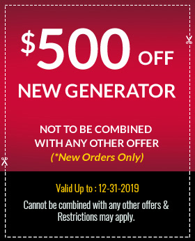 $500 Off New Generator