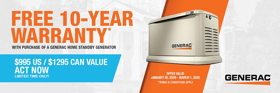 Generac's National Promotion