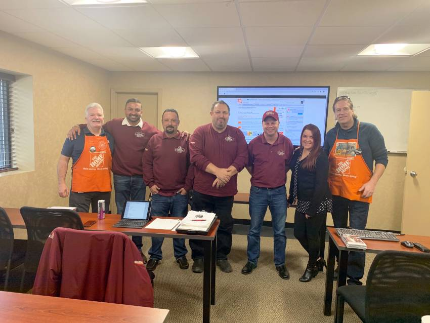 Training Session with Home Depot and Corbin Electrical Services Sales Team