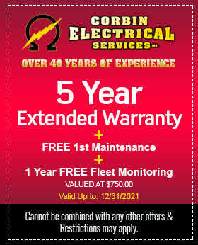 5 Years Extended Warranty